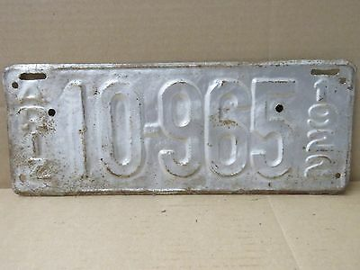 Rare Antique Vintage 1922 Arizona Metal License Plate Silver 18313 & 1924 PAIR Arizona License Plates Coconimo Co Dmv Cleared Restored ...