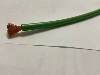 Mtw 6 Awg Gauge Green Stranded Copper Sgt Primary Wire 10 Ft