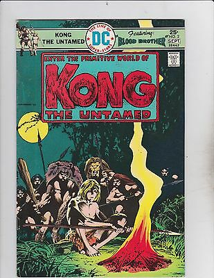 DC Comics! Kong the Untamed! Issue 2!