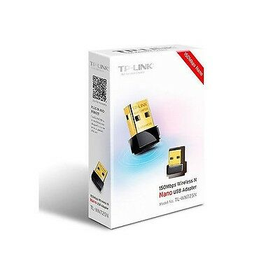 TP-LINK WIFI CARD 150Mbps Wireless N Internet Nano Micro USB Adapter Dongle