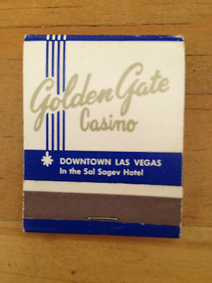 MATCHBOOK - GOLDEN GATE CASINO - Las Vegas, NV  (1347)