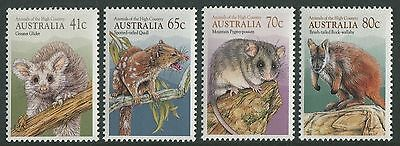 Australia 1990 Animals of the High Country MNH