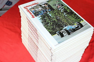 The World Of Automobiles Illustrated Encyclopedia 22 Volume Complete Set 1974 HC