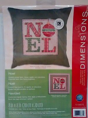 Dimensions noel pillow kit