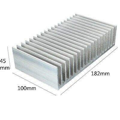 Cooling Module ELEGIANT 182x100x45mm Aluminum Heat Sink Heatsink for High Pow...