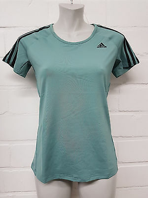 Adidas Damen T-Shirt Basic 3S Tee (AY7826) mint , Gr. M-XXL TOP NEU!!!