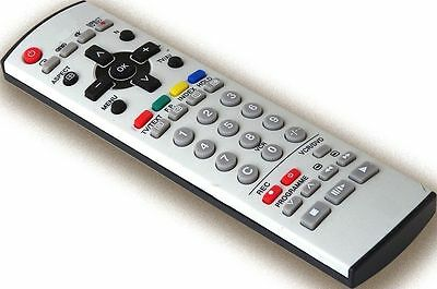 Panasonic EUR7628010 Replacement Remote Control for Panasonic CRT TV, TV