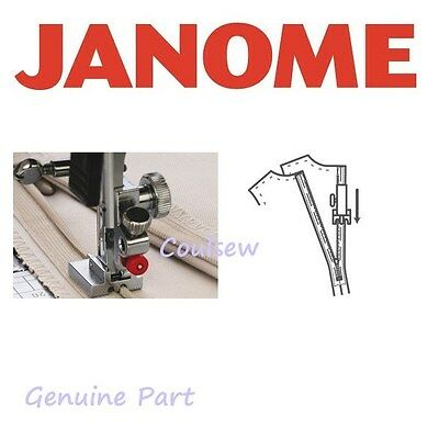 JANOME GENUINE Concealed Invisible ZIP zipper foot top loading Cat B+C Clip on
