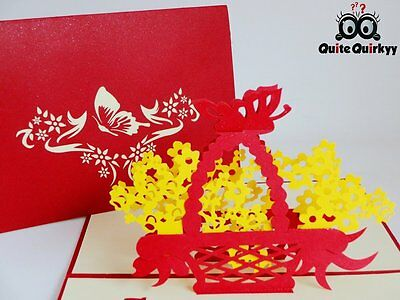All occassions Best Wishes 3D Pop-up Greetings Card