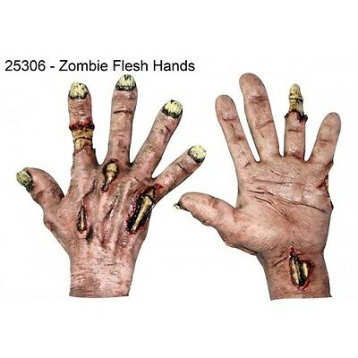 Zombie Hands Gloves Pair  Highly Detailed Gloves Adult