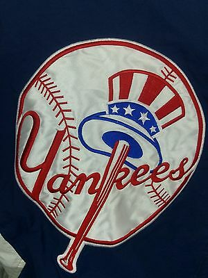 Vintage New York YANKEES STARTER Pullover Jacket size XL Windbreaker MLB 1990s