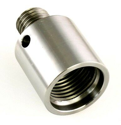 Lathe Spindle Adapter Connects 1-1/2 x 8 Machine Spindle to 1-8 Threaded Chucks
