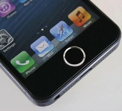 Touch Sensitive Home Button Sticker For iPhone 5s/6 Etc