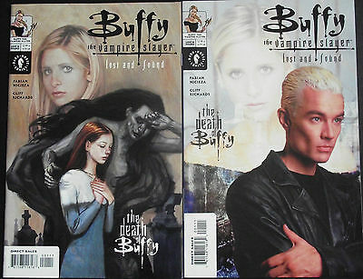 BUFFY VAMPIRE SLAYER:LOST & FOUND...NM-...2002...Art & Photo Covers...Bargain!