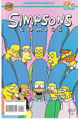 SIMPSONS COMICS 25...VF/NM...1996...Great Comic!...Bargain!