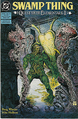 SWAMP THING (Vol.2) 105...NM-...1991...Quest For Elementals Pt.2!...Bargain!