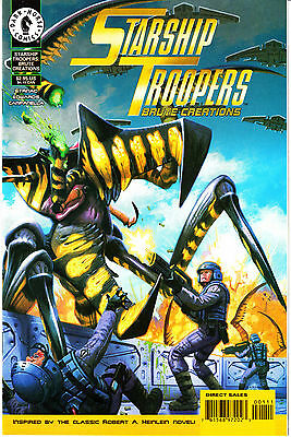 STARSHIP TROOPERS:BRUTE CREATIONS 1...NM-...1997...Jan Strnad...Bargain!