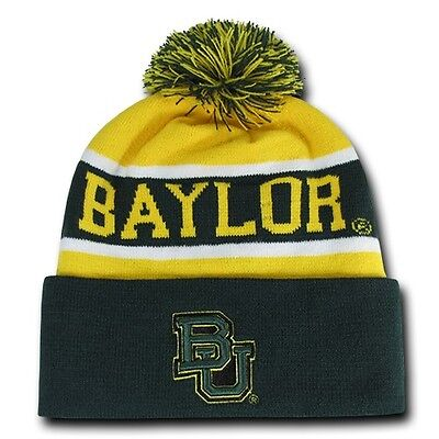 The Legend Beanie Toboggan Cap Hat Baylor University College Bears WRA 800-110