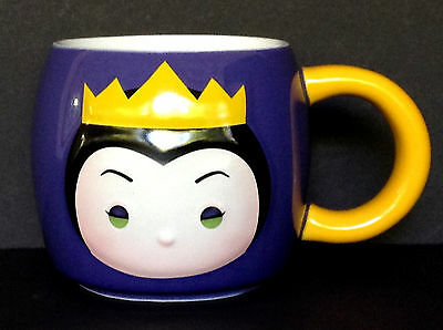 DISNEY STORE Mug TSUM Tsum EVIL QUEEN 2016 Ceramic Cup 16 oz NEW