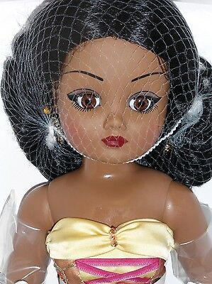 "Madame Alexander 21"" CISSY Doll - LIFE IN THE LIMELIGHT AFRICAN/AMERICAN -LE 200"