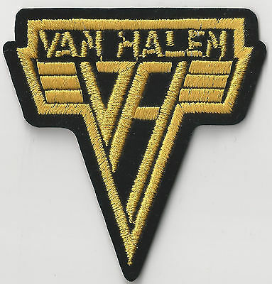 VAN HALEN - VH LOGO - IRON ON or SEW ON PATCH