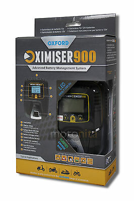 Oxford Oximiser 900 UK Battery Charger - Columbia SST 340