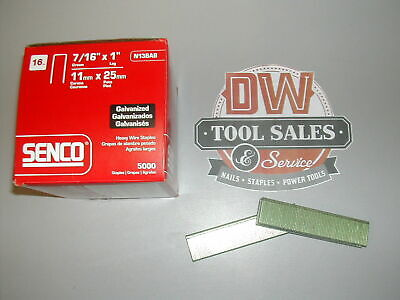 "Senco N13BAB Staples 16 Gauge 1"" Length 7/16"" Crown (5,000) For Bostitch S5"