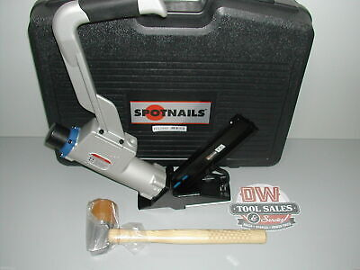 "Spotnails Flooring Nailer Cleat Nailer 2"" L Cleat Hardwood (NEW) Includes Case"