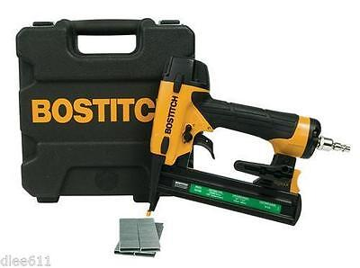 Bostitch Staple Gun 18 Gauge Narrow Crown Stapler SX Series w/ Case NEW Kit