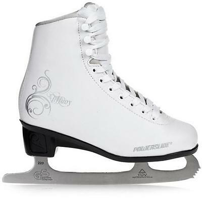 Ice skates POWERSLIDE woman TIFFAN white 902120/902133 Elegant Classic