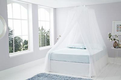Top Quality Cotton Resort Style Mosquito Net - Hang From Any Ceiling 100% Cotton