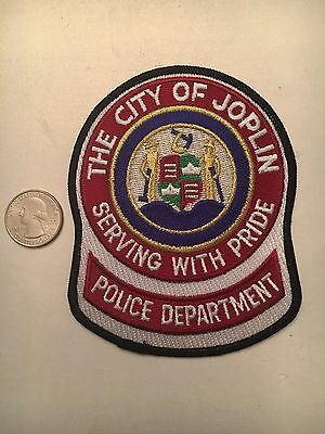 City Of Joplin Police Department Patch Missouri Mo