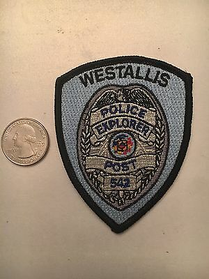 Westallis Wisconsin Police Department Explorer Patch Wi