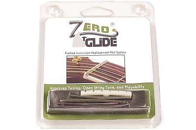 Genuine Zero Glide ZS-7F Slotted nut replacement system for Fender Guitars