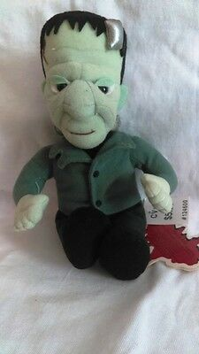 Stuffins Frankenstein with tags 1999