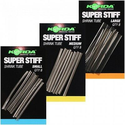 Korda NEW Carp Fishing Super Stiff Heat Shrink Tube *All Sizes Available*