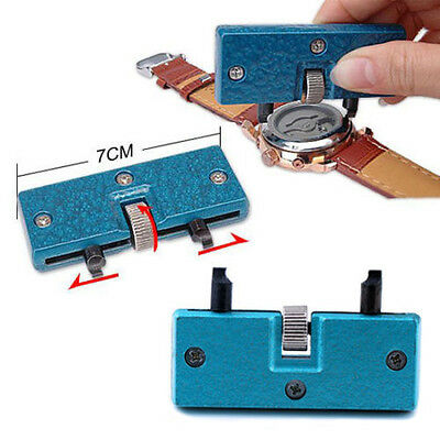 Adjustable Watch Back Case Cover Opener Remover Wrench Repair Kit Tool Enticing
