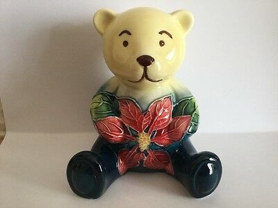 Old Tupton Ware Teddy New And Boxed - Poinsettia Design