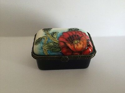 """Old Tupton Ware """"Poppy"""" Trinket - New And Boxed"""