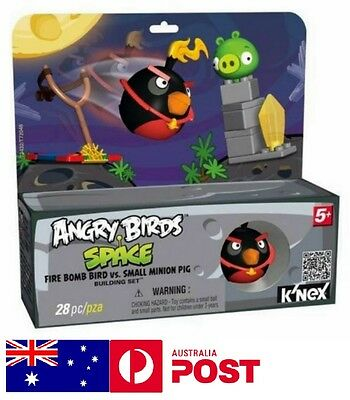 Angry Bird Building Set Space Fire Bomb Bird Small Minion Pig Birthday Gift Toy