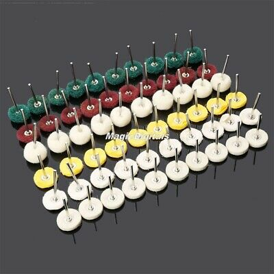 25mm Polishing Disc Wheel Buffing Brushes Accessory For Grinder Rotary Tool 60pc
