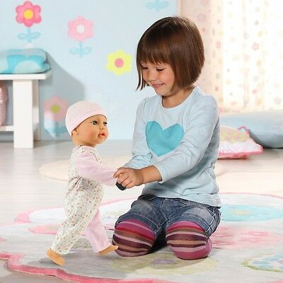 Crawling Baby Annabell Learns to Walk Doll