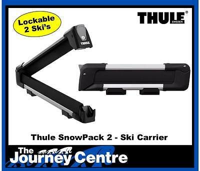 Thule 7322 SnowPack 2 Ski Carrier NEW for 2017 Replaces 740 745 746 749 726 727