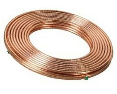 1/2 inch x 50 ft. Soft Copper Tubing - Refrigeration ACR Tubing - MADE IN USA