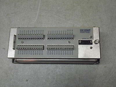 Campbell Scientific CR10 Control Module & CR10WP Wiring Panel