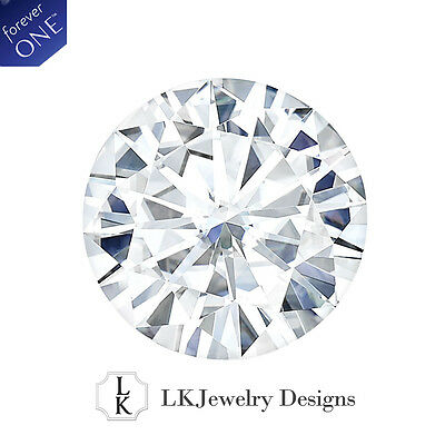 6.13 CT MOISSANITE FOREVER ONE ROUND LOOSE STONE - 12.0 mm