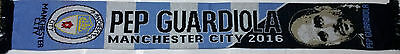 Manchester City Scarf Pep Guardiola Football Club Gifts