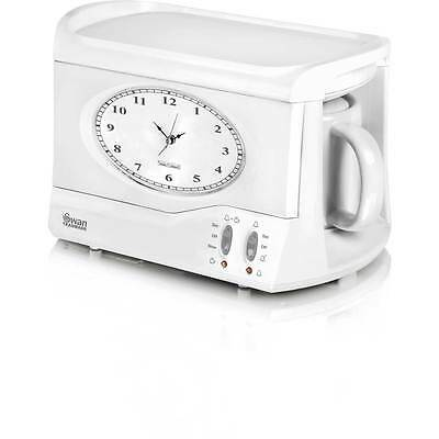 Swan STM201 Vintage Teasmade Tea Maker 0.6 Litres White New from AO