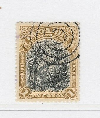 A2P49 COSTA RICA 1901 1col USED