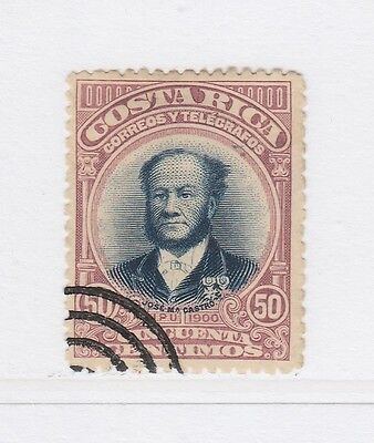 A2P49 COSTA RICA 1901 50c USED